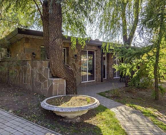 домик под лиственницей